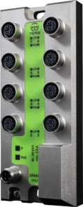 TERZ Industrial PoE Switch M12