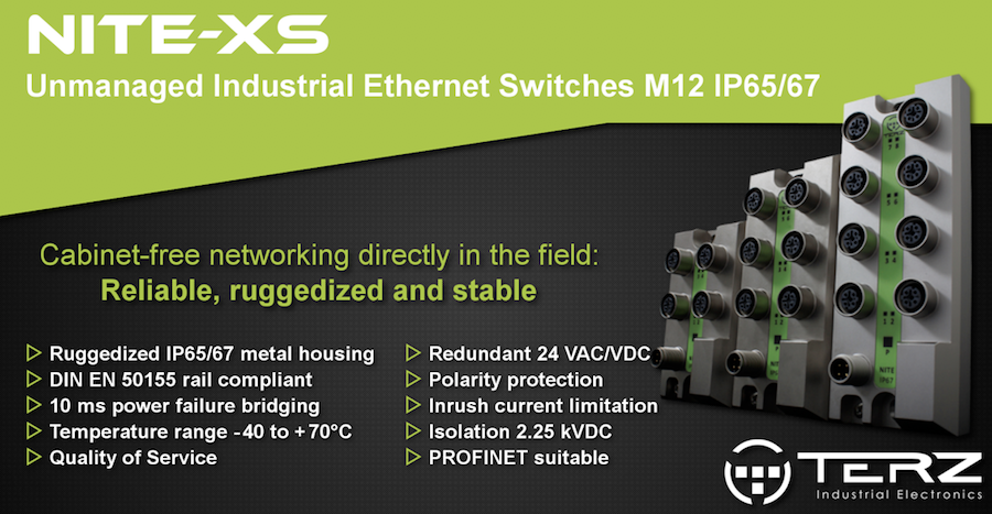 Ruggedized Industrial Ethernet Switches