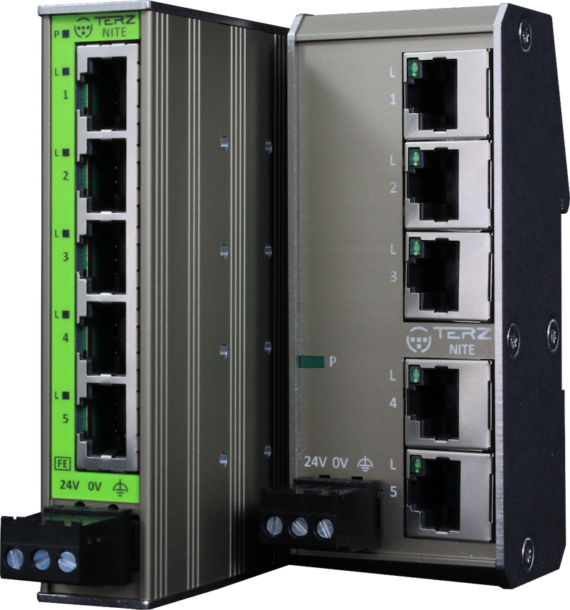Unmanaged Industrial Ethernet Switches RJ45 5 Port