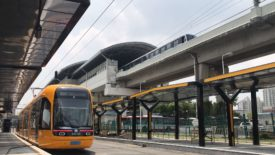 Tram network-Shanghai