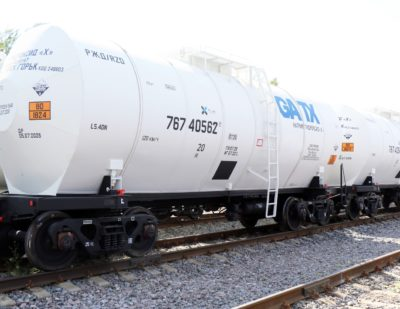 Russia: TikhvinChemMash Sells 20 Tank Cars to GATX Rail Vostok