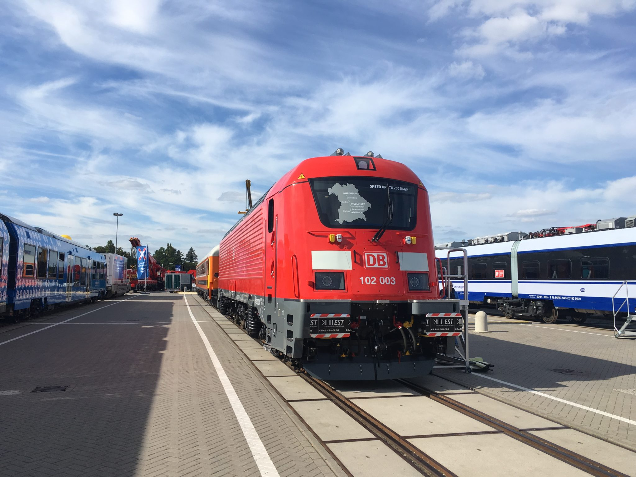Rolling Stock Highlights at InnoTrans 2018: push-pull trainset