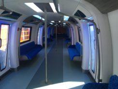 Interior of the CETROVO metro
