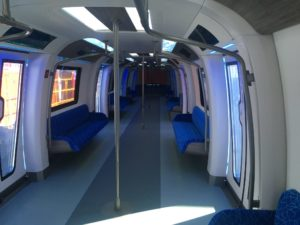 Interior of the CETROVO metro