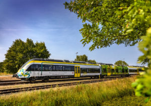 Bombardier Reveals New Battery-powered Train in a World First
