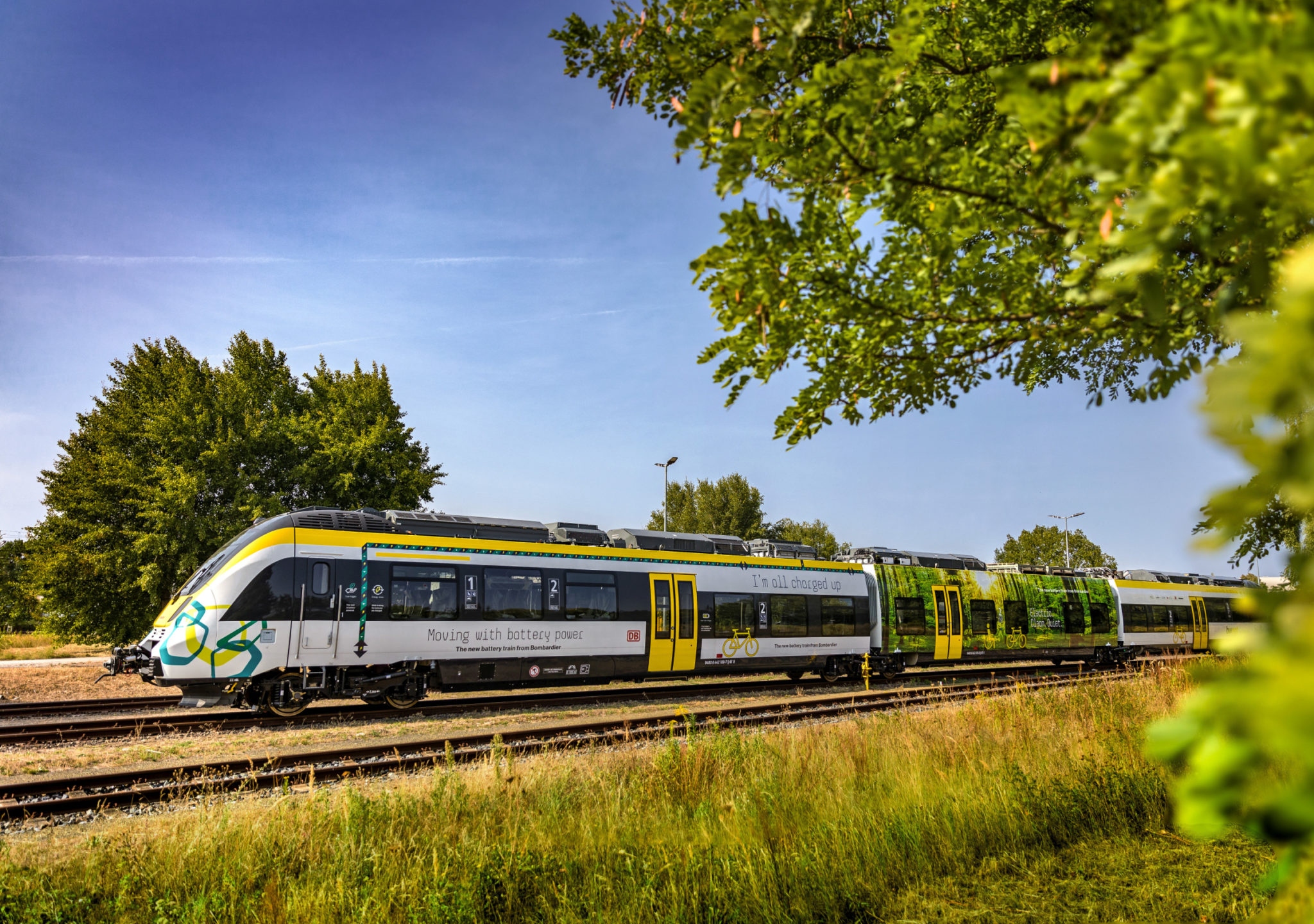 Bombardier's battery-powered train – the TALENT 3 EMU