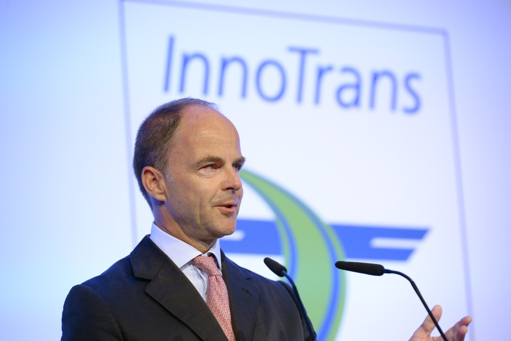 Christian Göke will speak at InnoTrans 2018
