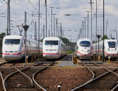 DB Invests Additional Billion Euros in ICE 1 and ICE 4 Trains