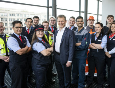Germany: 3,600 Apprentices Start with Deutsche Bahn