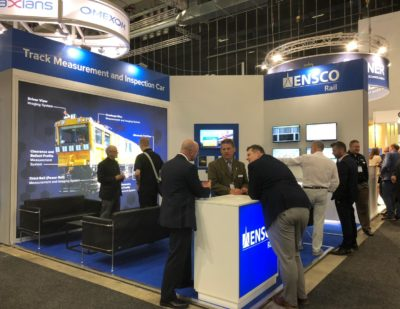 ENSCO Rail Spotlights Advanced Rail Technology Solutions at InnoTrans 2018