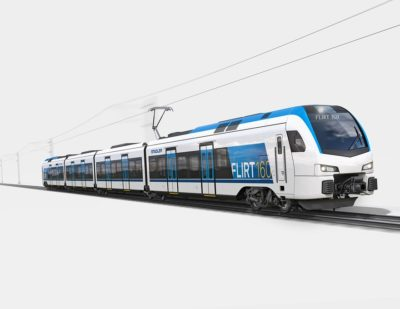 Germany: Go-Ahead Orders 22 Electric FLIRT Railcars from Stadler