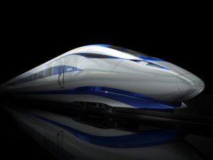 HS2 trainset