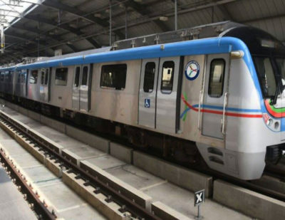 India: New Section of Hyderabad Metro Line 1 Opens