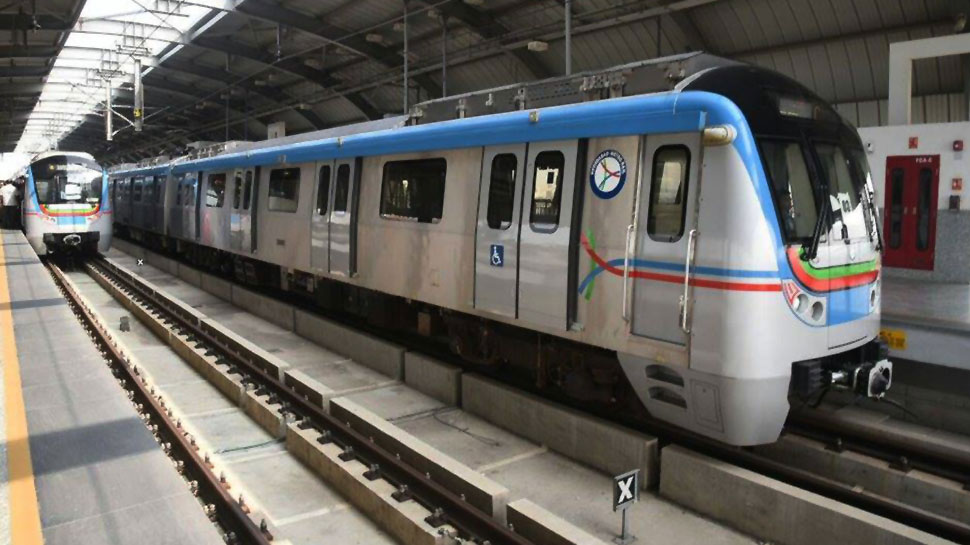 Hyderabad metro rolling stock
