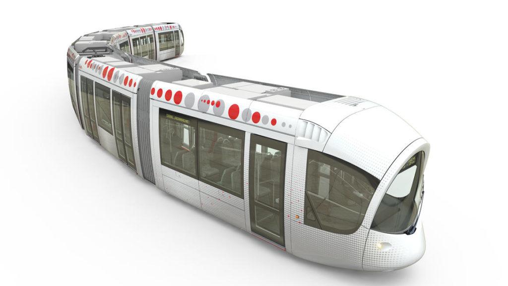Citadis tram for SYTRAL