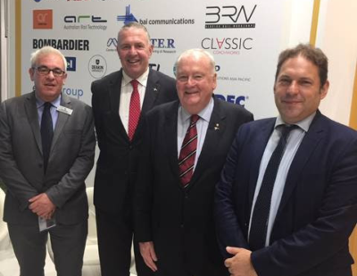 Australia and UK: Rail Associations Sign MoU to Improve Links and Increase Co-Operation