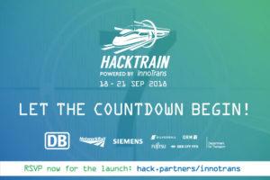 Hack Partners Launching HackTrain InnoTrans 2018
