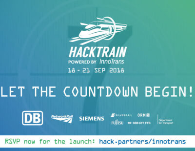 Hack Partners Launching HackTrain InnoTrans 2018