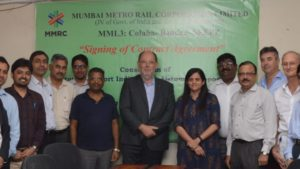 Metro-Car Contract for Mumbai Metro Line 3