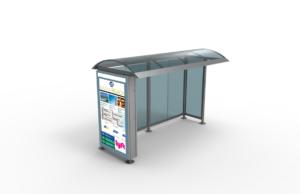 Nanov Bus Stop – LCD Sign