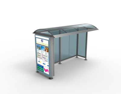 Nanov Bus Stop – LCD Sign