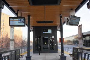 Nanov Transit Monitor – Bloor Station, UP Express – Toronto, Ontario
