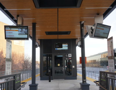 Nanov Transit Monitor – Bloor Station, UP Express – Toronto, Ontario
