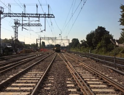 UK: Network Rail Completes Replacement of North Wembley Junction