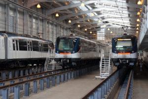 Panama Metro Alstom Metropolis trainsets