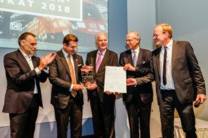 Plasser & Theurer Receives Supplier of the Year Award from Deutsche Bahn