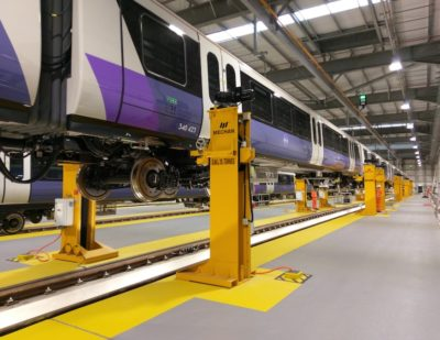 Mechan Jacks Lift Expectations for Crossrail Trains