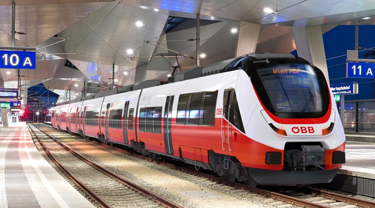 Austrian Federal Railways Cityjet TALENT 3