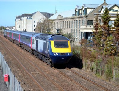 First Upgraded Inter7City High-Speed Train to Enter Service in Scotland