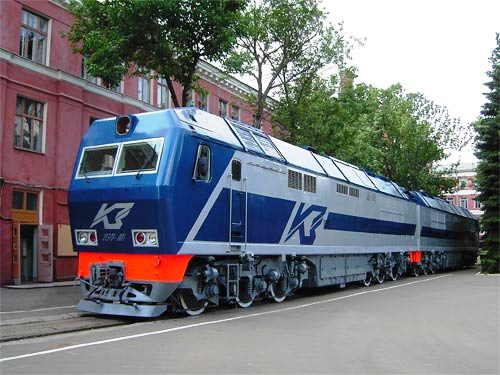 Transmashholding locomotive