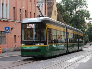 Skoda Artic tram
