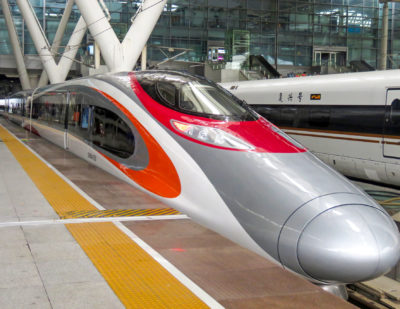 Almost 1 Million Passenger Journeys on Hong Kong High-Speed Rail to Date
