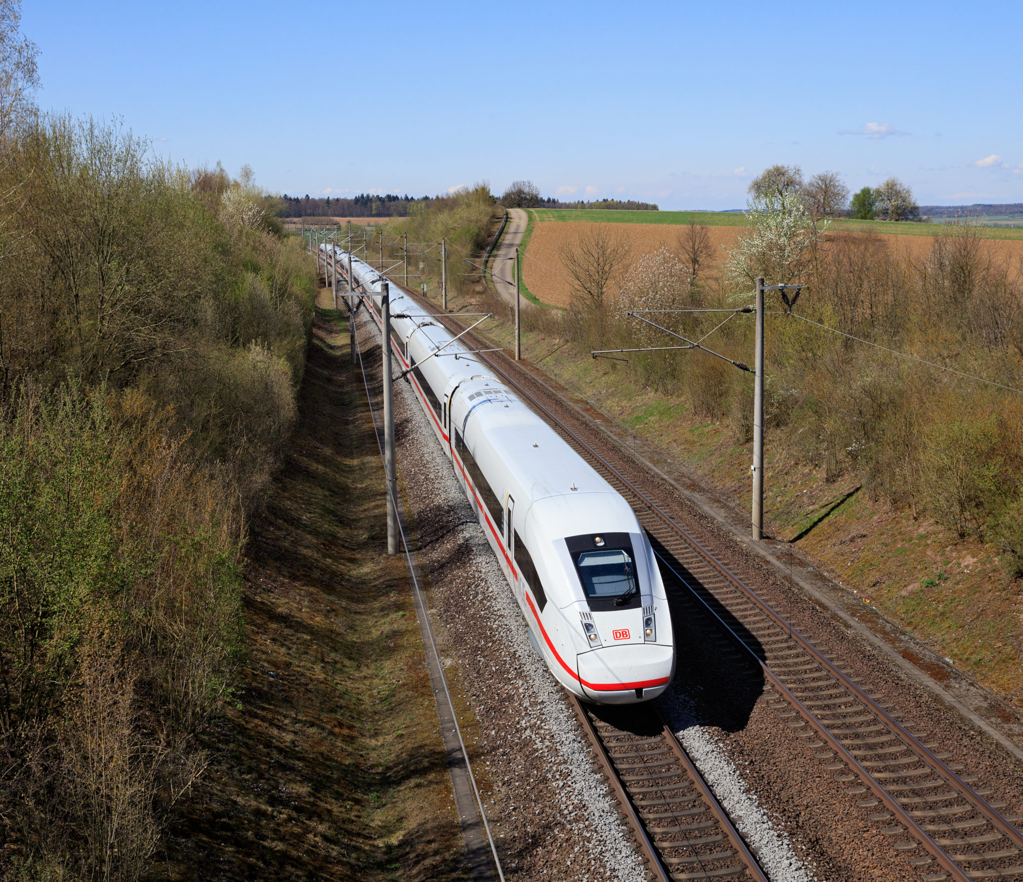 high-speed rail line in Germany