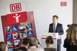 DB Launches New App for Passengers with Impairments