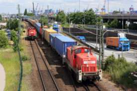 DB freight train