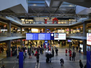 Video Displays for Railway Stations