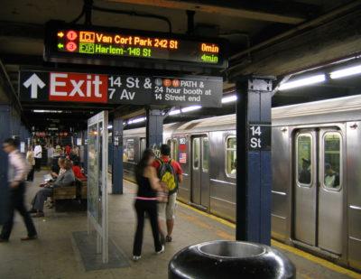 Daktronics New York USA LED Platform Display