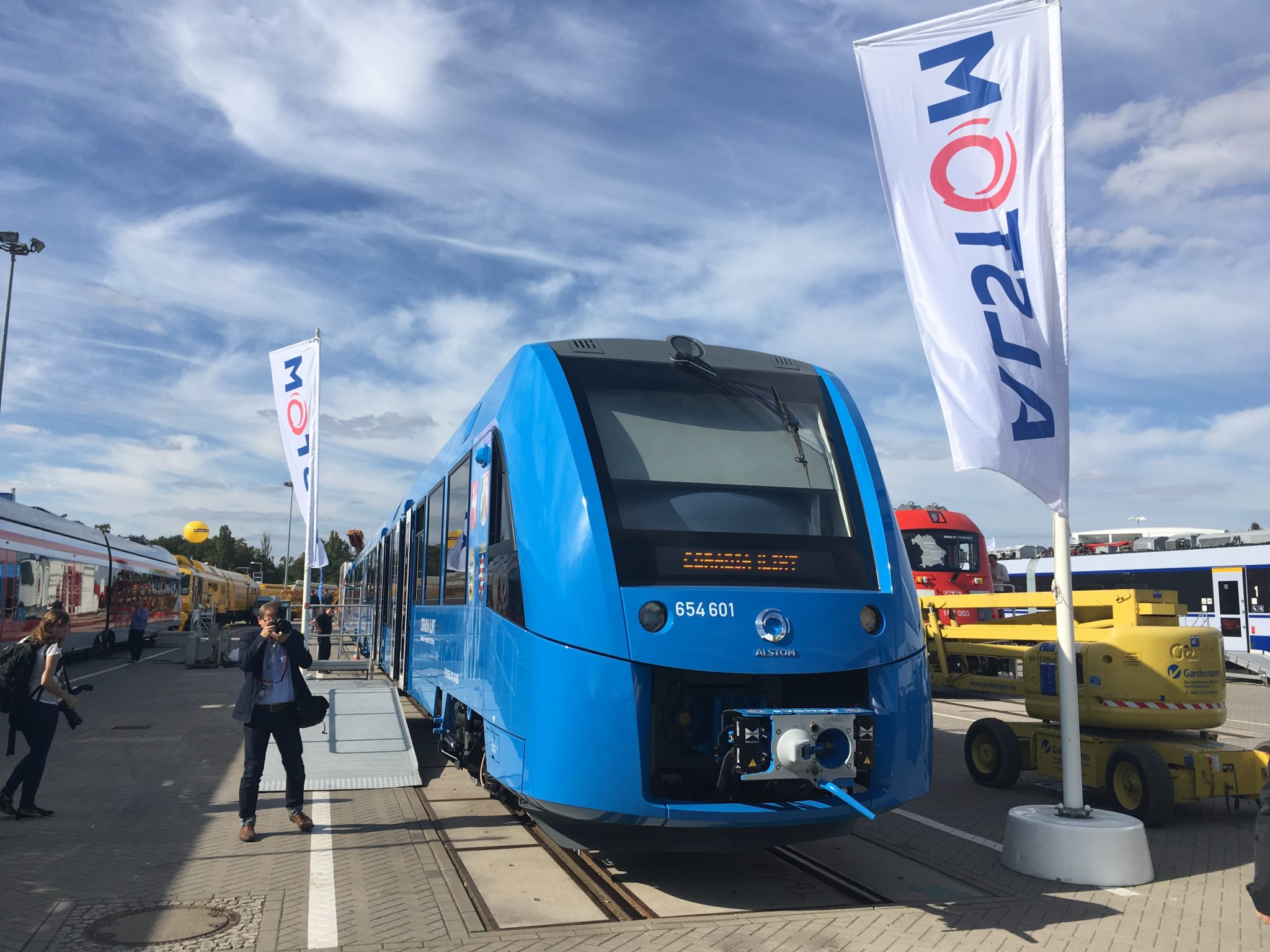 Coradia iLint at InnoTrans 2018