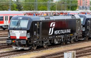 Mercitalia locomotive