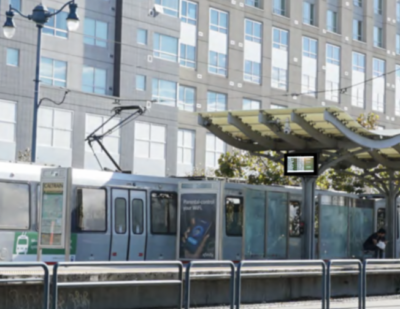 Spotlight: Outdoor Transit Station Display for Visibility Under Direct Sunlight