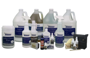 Perrone Cleaning Products for Rail Leather and Upholstery