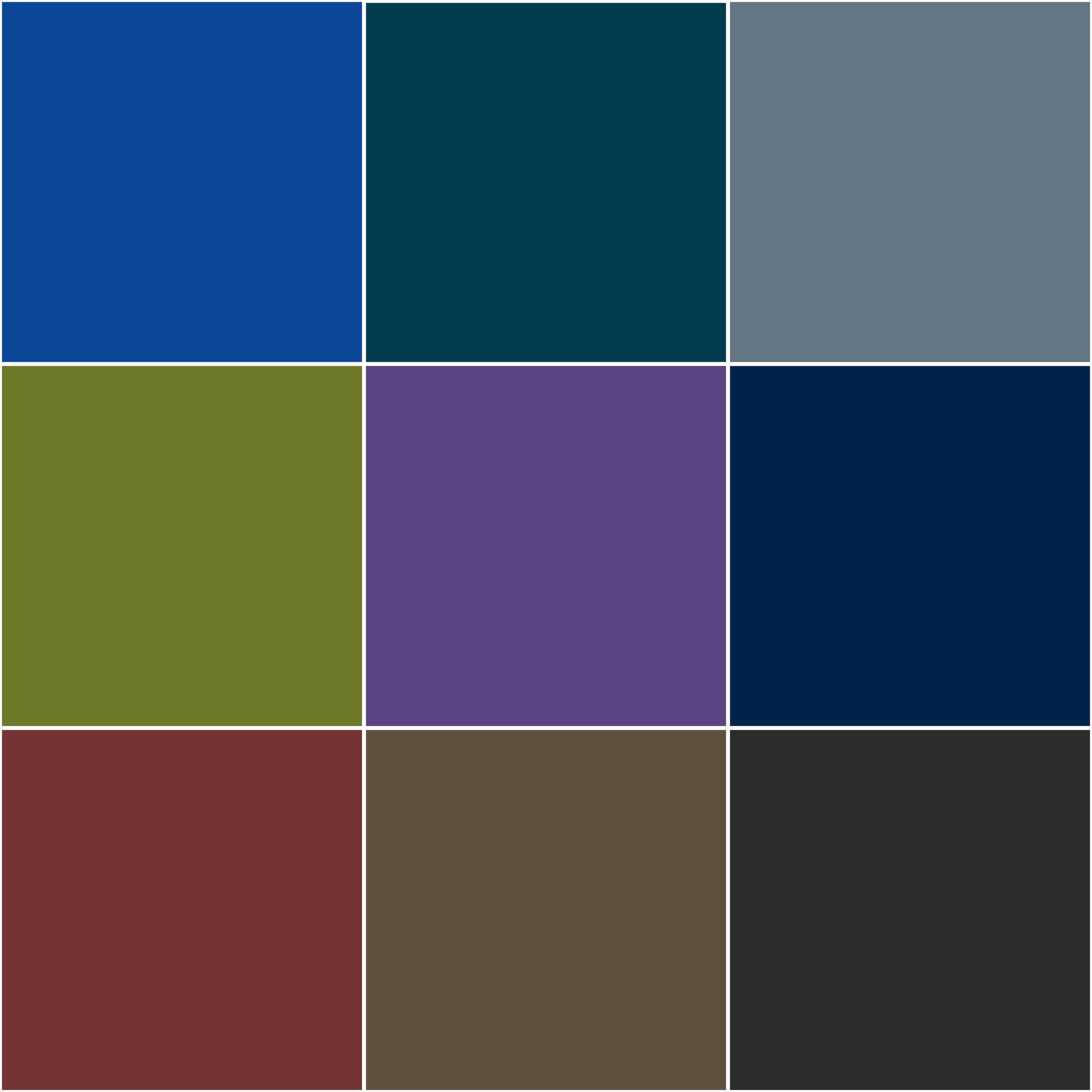 Ecolite Stock Colors (Note: These are stock colors only. Custom color matches available by request.)