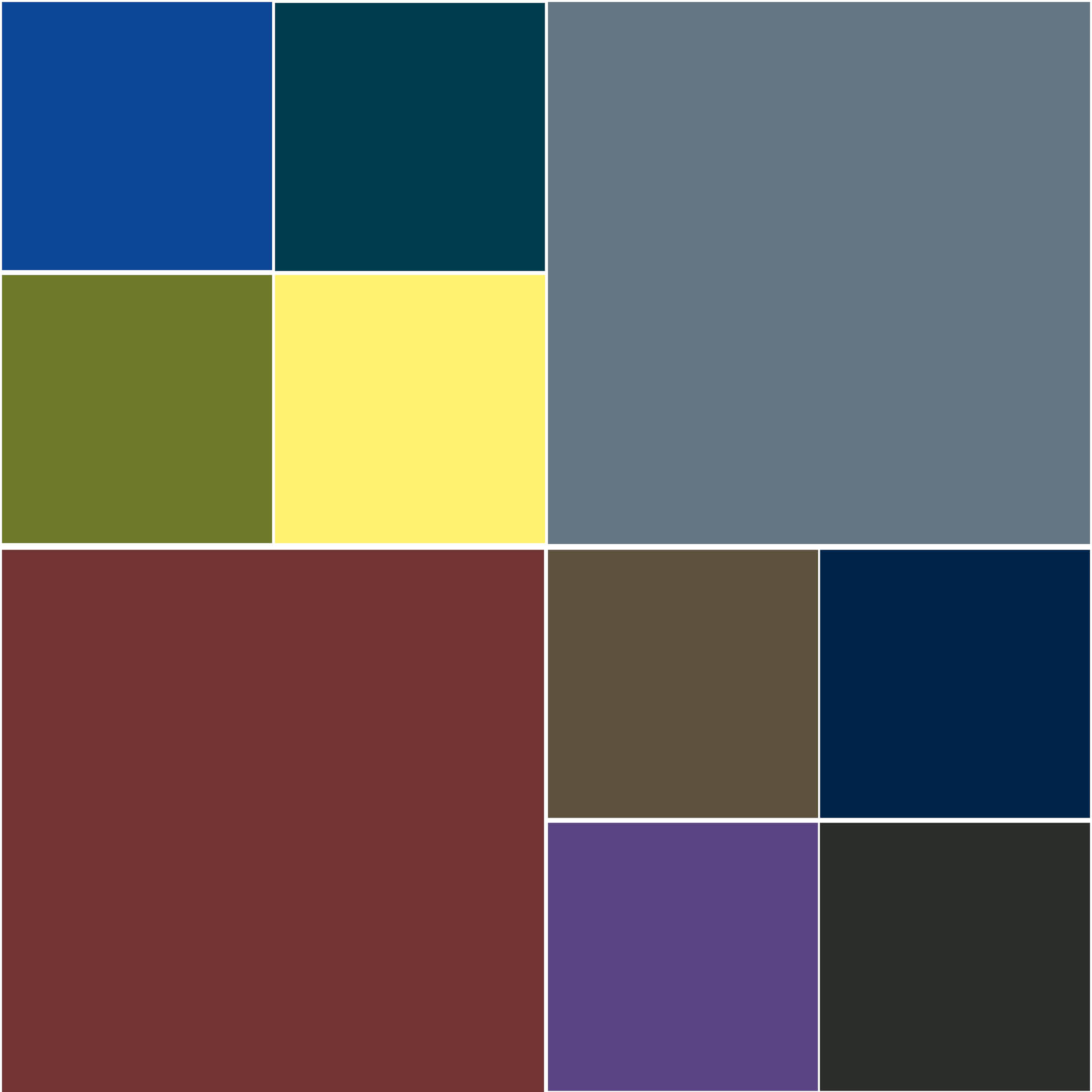 Genuine Leather Stock Colors (Note: These are stock colors only. Custom color matches available by request.)