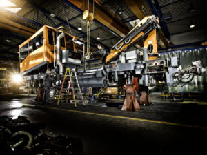 Servicing for Track Maintenance Vehicles & Machines