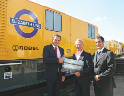 CrossRail RORUNNER Systems Officially Handed Over to Transport for London