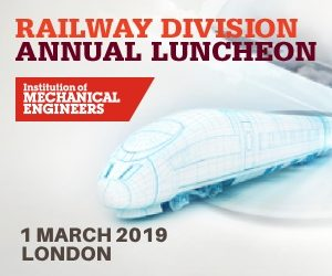 Railway Division Annual Luncheon Returns for 2019